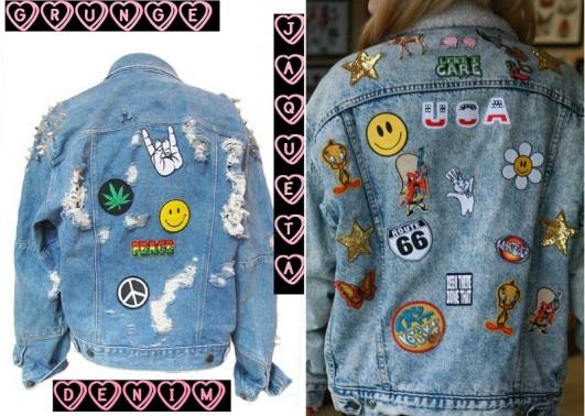 Resultado de imagem para jaquetas grunge